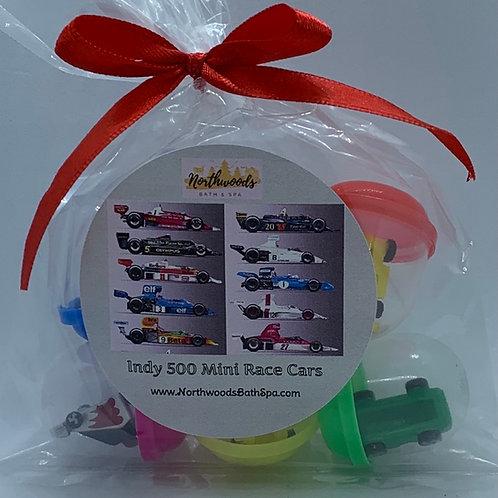 Indy 500 Mini Race Car Toys - Set of 6