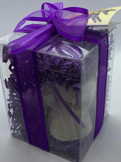 Clementine  Lavender 7-pack Bath Bomb Gift Set