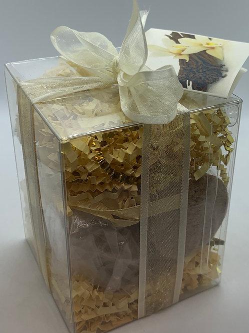 French Vanilla & Amber 7-pack Bath Bomb Gift Set