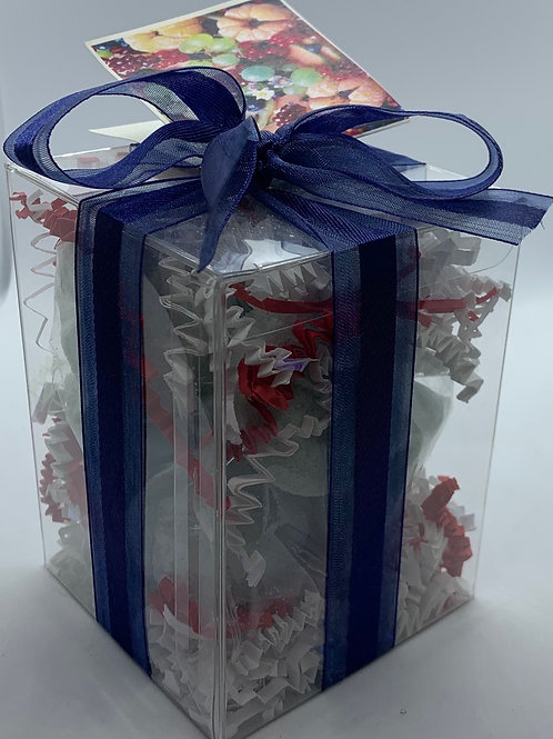 Blackberry Tangerine 7-pack Bath Bomb Gift Set