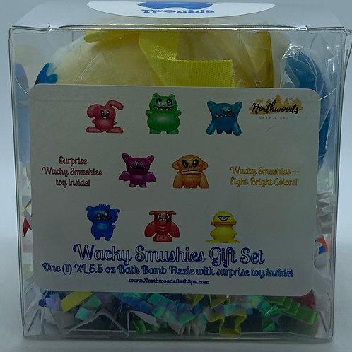 Wacky Smushies (Trouble) 5.5 oz Bath Bomb Gift Set