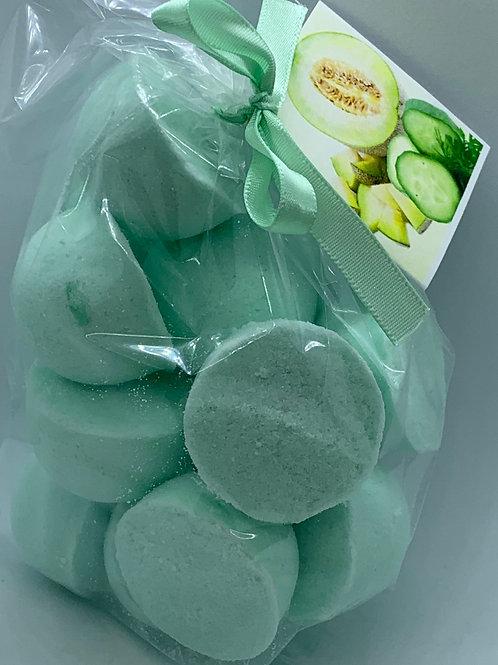 Cucumber Melon 14-pack Bath Bomb Fizzies