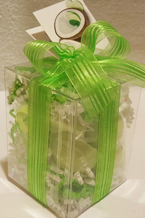 Coconut, Lime, Verbena 7-pack Bath Bomb Gift Set