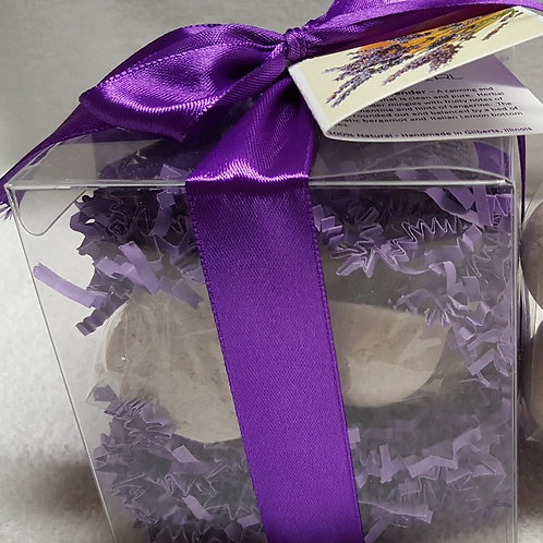 Clementine Lavender 14-pack Bath Bomb Gift Set