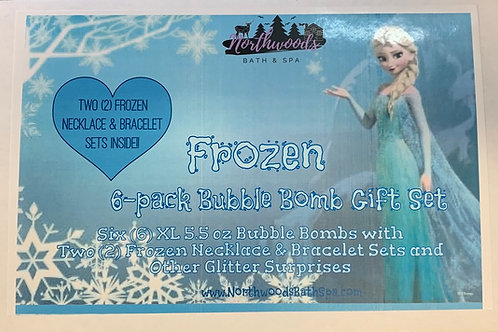 Frozen 6-pack Bubble Bomb Gift Set