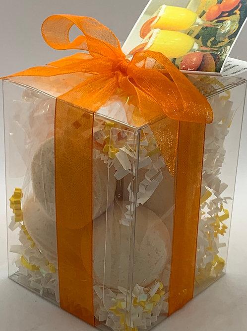 Mandarin & Mimosa 7-pack Bath Bomb Gift Set
