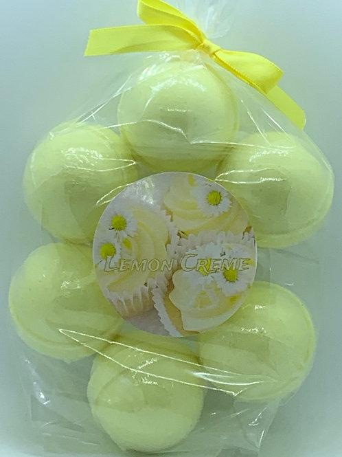 Lemon Creme 7-pack Bath Bomb Fizzies