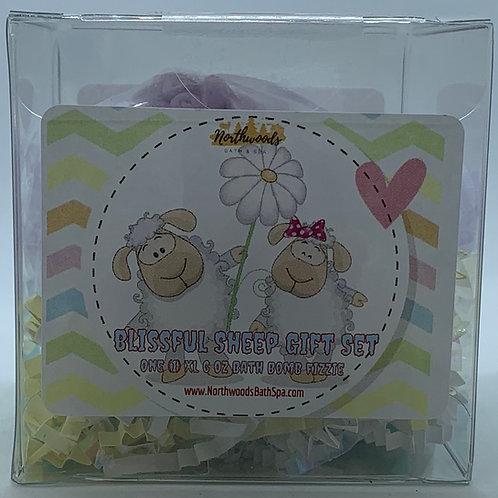 Lavender 6 oz Sheep Bath Bomb Gift Set