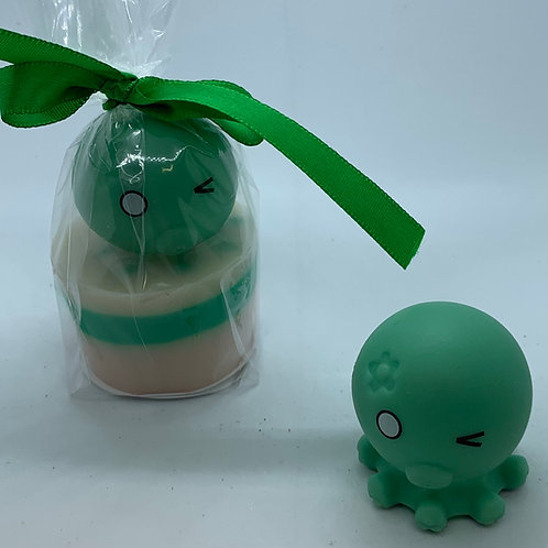 """Water Squirter """"Octopus"""" 1.3 oz Jelly Bean Soap"""