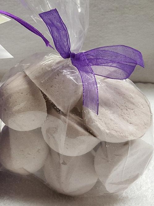 Clementine Lavender 14-pack Bath Bomb Fizzies