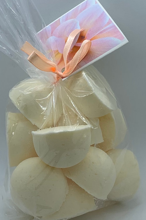 White Tea & Ginger 14-pack Bath Bomb Fizzies