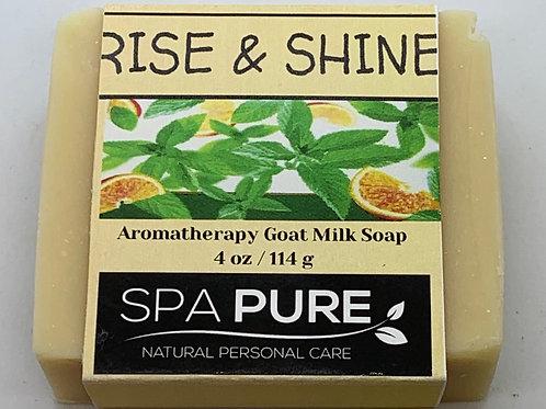 Rise & Shine Aromatherapy Goat Milk Soap