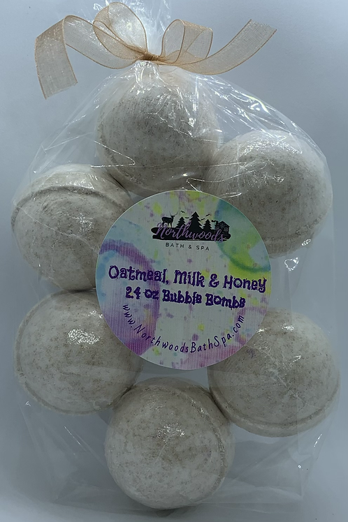 Oatmeal, Milk & Honey 7-pack Bubble Bombs