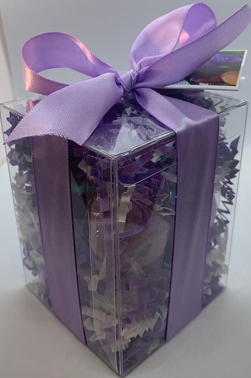 French Lilac 7-pack Bath Bomb Gift Set (b)