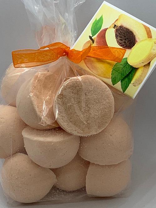 Ginger Peach 14-pack Bath Bomb Fizzies