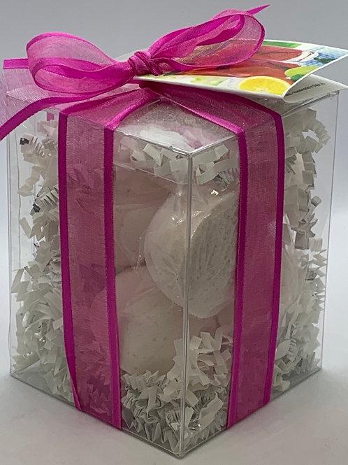 Raspberry Sangria 7-pack Bath Bomb Gift Set