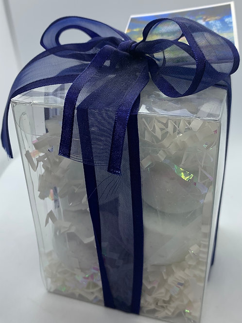 Calabrian, Bergamot & Violet 7-pack Bath Bomb Gift Set