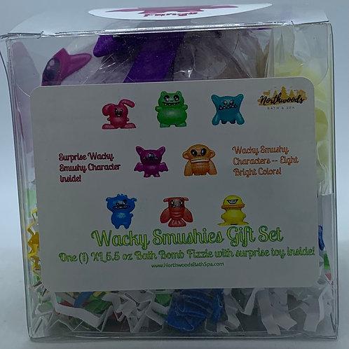 Wacky Smushies (Fangs) (b) 5.5 oz Bath Bomb Gift Set