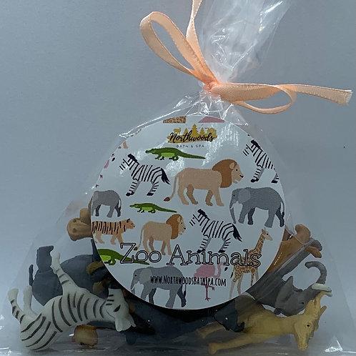 Zoo Animals Toys - Set of 12