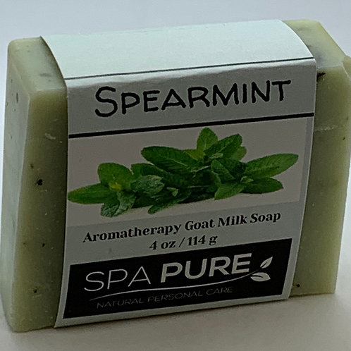 Spearmint Aromatherapy Goat Milk Soap