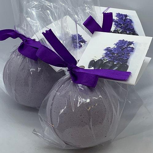 Tassie Lavender - Three (3) XL 5.5 oz Bath Bomb Fizzies