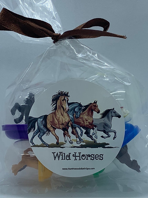 Wild Horses Toys - Set of 6