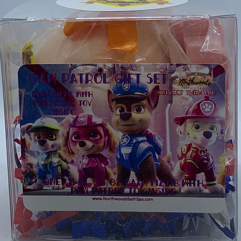 """""""Rubble"""" Paw Patrol XL 5.5 oz Bath Bomb Gift Set"""