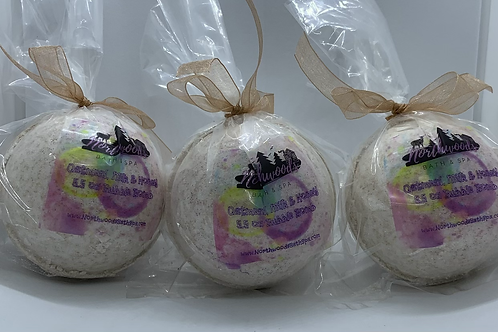 Oatmeal, Milk & Honey - Three (3) XL 5.5 oz Bubble Bombs