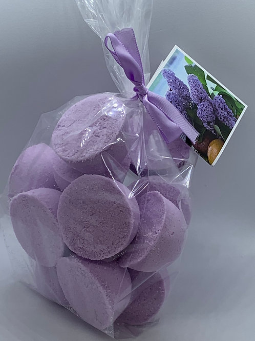 French Lilac 14-pack Bath Bomb Fizzies