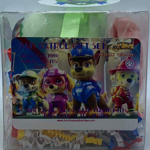 """Rocky"" Paw Patrol XL 5.5 oz Bath Bomb Gift Set"