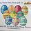 Thumbnail: Large 5.5 oz Happy Easter 12-pack Bath Bomb Gift Set