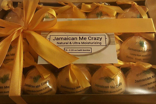 Jamaican Me Crazy Bath Fizzie Gift Set