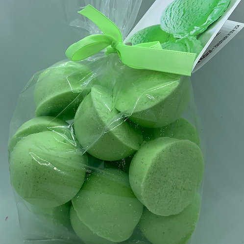 Lime Freeze 14-pack Bath Bomb Fizzies