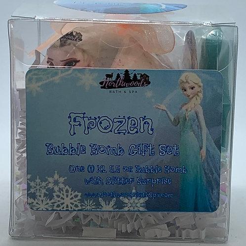 "Frozen ""Peaches"" 5.5 oz Bubble Bomb Gift Set"