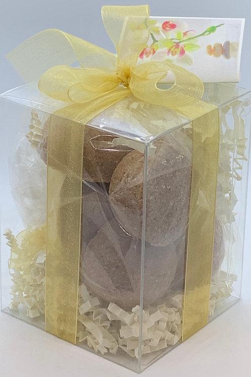 Vanilla 7-pack Bath Bomb Gift Set