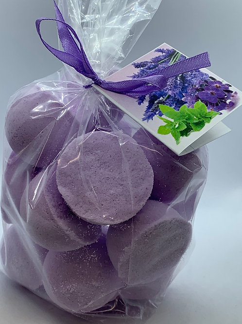 Lavender Mint 14-pack Bath Bomb Fizzies