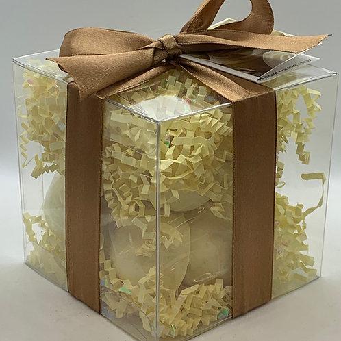 Lemon Creme 14-pack Bath Bomb Gift Set