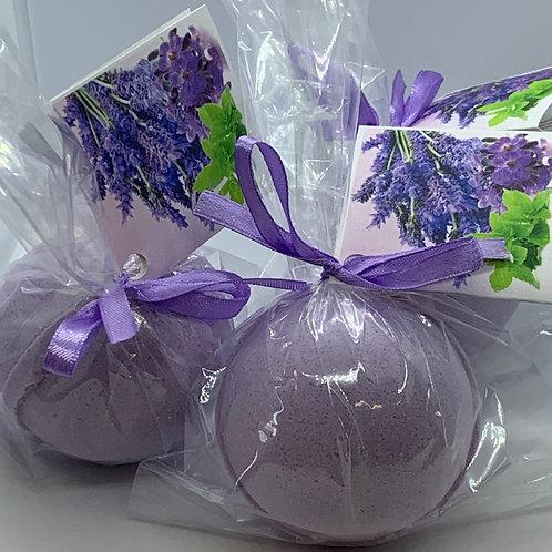 Lavender Mint - Three (3) XL 5.5 oz Bath Bomb Fizzies
