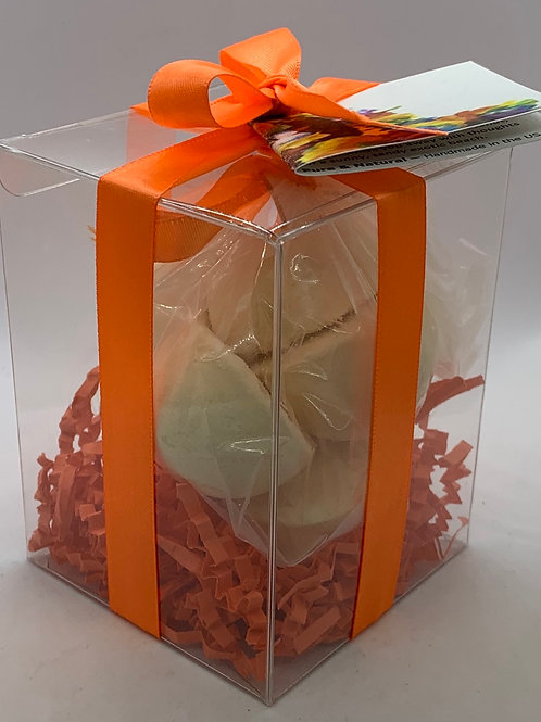 Caribbean Coconut 7-pack Bath Bomb Gift Set