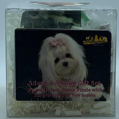 Adopt-A-Puppy (Blossom) 5.5 oz Bath Bomb Gift Set