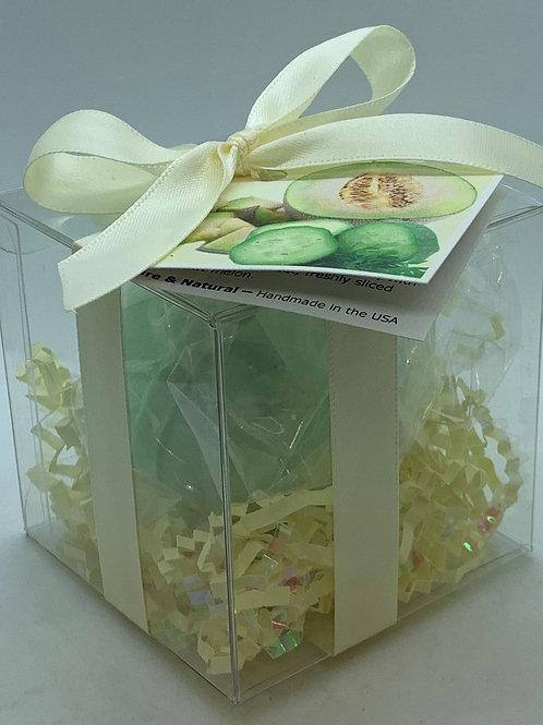 Cucumber Melon 5.5 oz Bath Bomb Gift Set (b)
