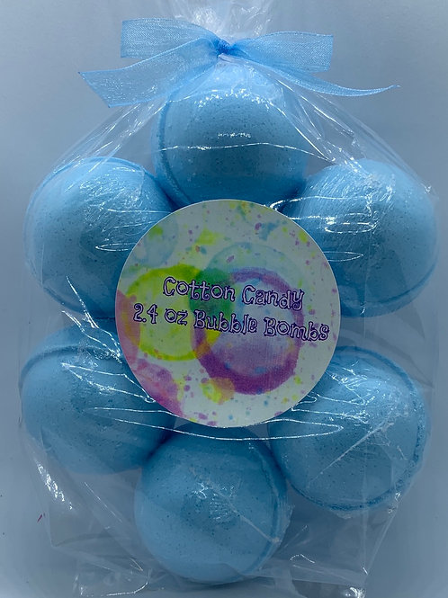Cotton Candy 7-pack Bubble Bombs