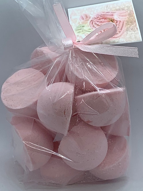 Pink Sugar 14-pack Bath Bomb Fizzies