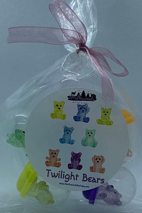 Twilight Bears Pencil Topper Toys - Set of 6