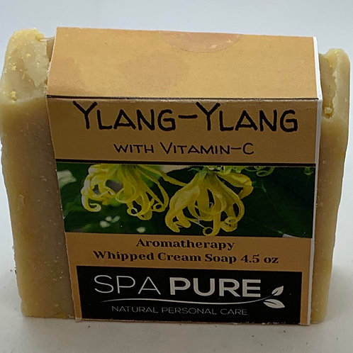 Ylang-Ylang with Vitamin C Aromatherapy Whipped Cream Soap