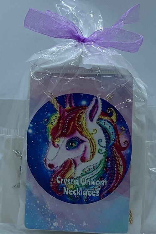 Crystal Unicorn Necklaces - Set of 4