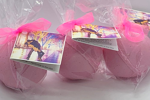 1000 Kisses - Three (3) XL 5.5 oz Bath Bomb Fizzies