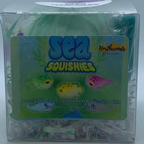 Sea Squishies (Giggles) 5.5 oz Bath Bomb Gift Set
