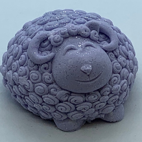 Tassie Lavender 6 oz Sheep Bath Bomb Fizzie
