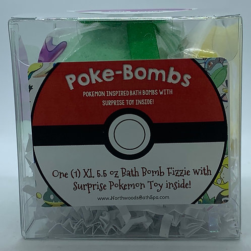 Poke-bomb (Gum Drop) 5.5 oz Bath Bomb Gift Set